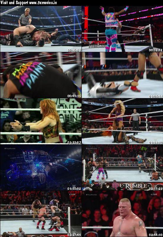 WWE Royal Rumble 2016 PPV 480p WEBRip x264 700mb