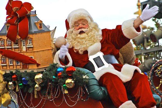 Foto de Papa Noel o Santa Claus en Disney