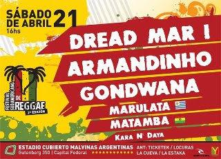 Se viene el 2º Festival Sudamericano de Reggae