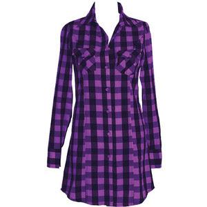 Gracie Plaid Dress