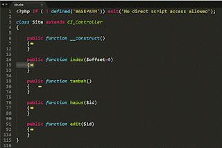Video Tutorial dan source code aplikasi dengan codeigiter
