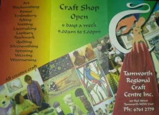 Tamworth Regional Craft Centre Inc