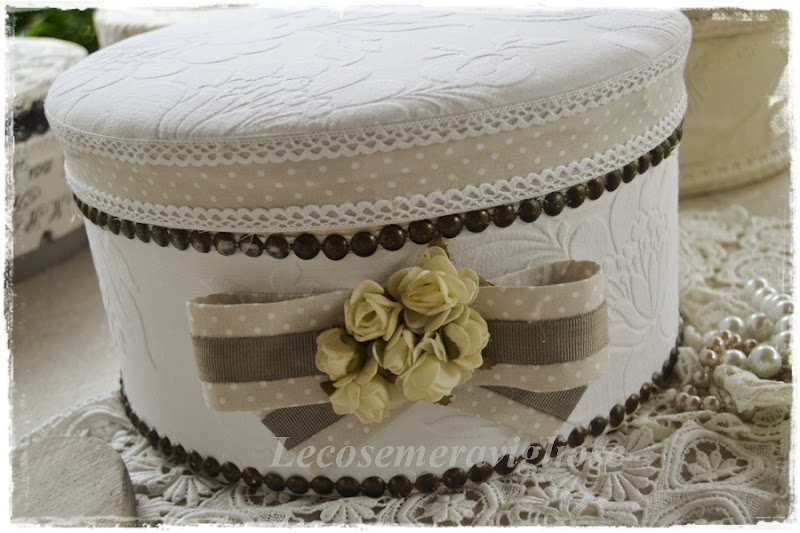 Super lecosemeravigliose Shabby e country chic passions: scatole  JE42