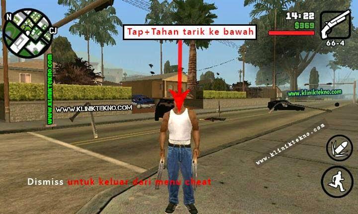 Cara Menggunakan Cheat Cleo Pada GTA San Andreas Apk