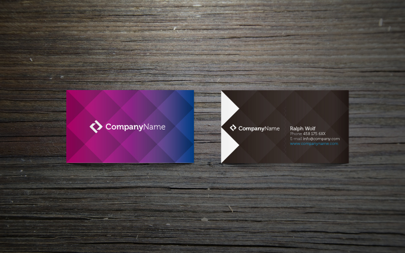 ... u30c6u30f3u30d7u30ecu30fcu30c8 colorful unique corporate business card template