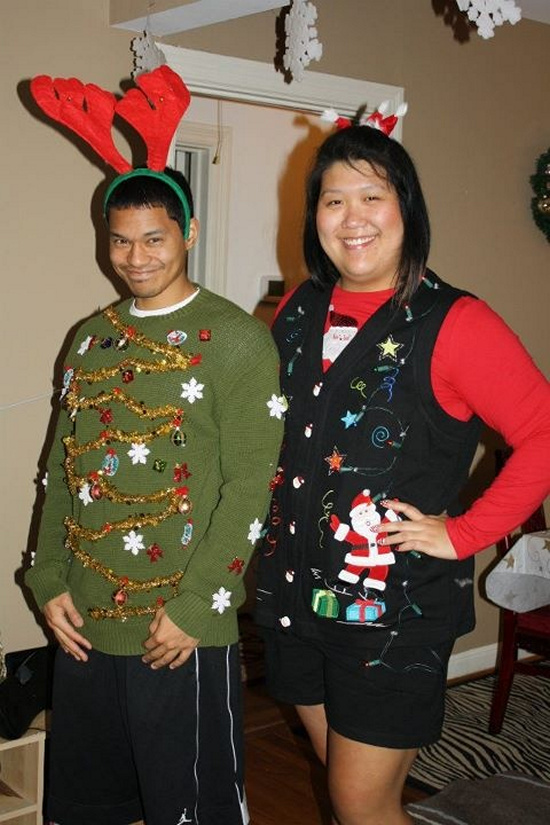 Ugly Christmas Sweater Ideas for Party (Images) | Free SMS Jokes ...
