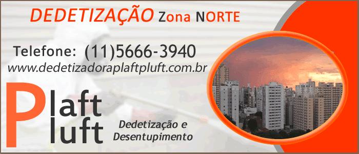 Dedetização Zona Norte de São Paulo 24 Horas