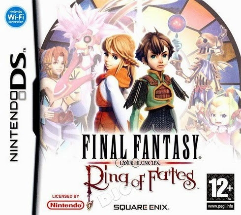 Final Fantasy Crystal Chronicles – Ring of Fates (Nintendo DS) (Español)