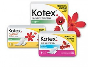 Amostra Gratis do Absorvente Kotex