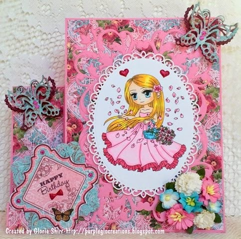 Featured Card at Your Scrapbook Place