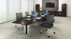 Transaction Conference Table by Mayline