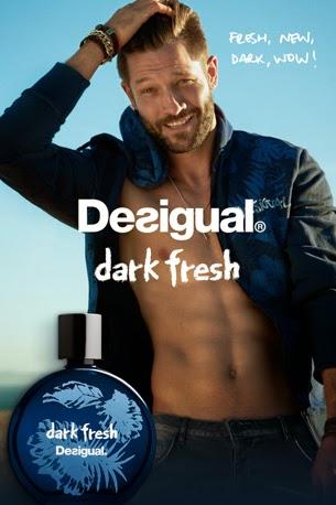 nuevas fragancias Desigual Man Dark Fresh