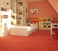 chambre enfant avec moquette
