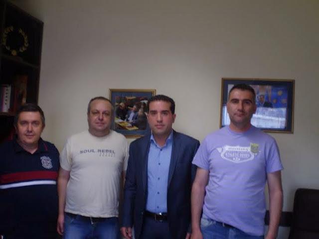 Συνάντηση της ΕΣΠΕΔΜ με τον Βουλευτή Κοζάνης Χ. Κάτανα