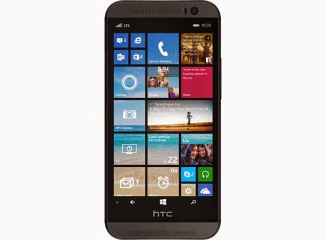 Lộ hình ảnh chính thức HTC One M8 chạy Windows Phone