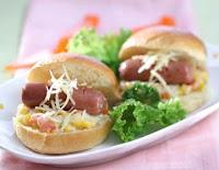 Sandwich Ragout Sayur Sosis