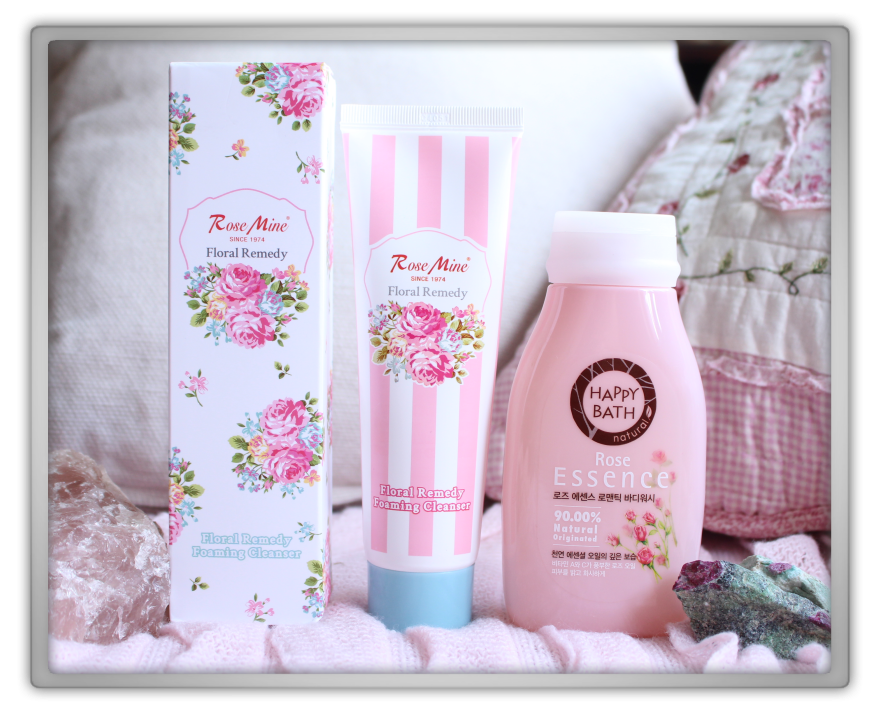 겟잇뷰티박스 by 미미박스 memebox beautybox scentbox 1 rose unboxing review preview box evas rosemine floral remedy foam cleanser happy bath essence body wash
