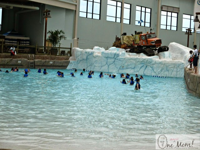 Inside Look New Camelback Lodge Aquatopia Indoor Waterpark Wave Pool