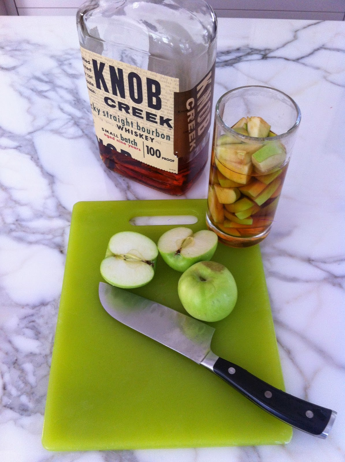 bourbon whisky macerated apples © Verdance Landscape Design