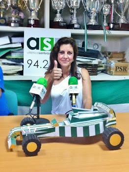 Isabel Camiña entrevistada en Atlético Sanluqueño Radio