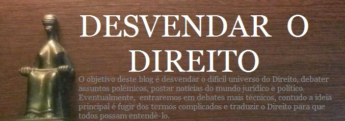 DESVENDAR O DIREITO blog spot
