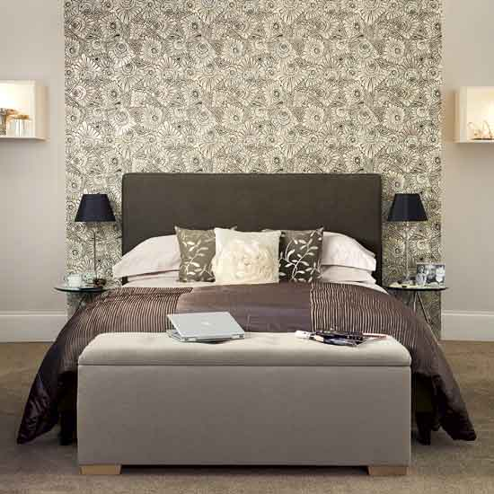 M veis para decorar os p s da cama quais s o decor for Bedroom ideas uk