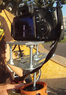 Canon 60D on DIY Steadicam