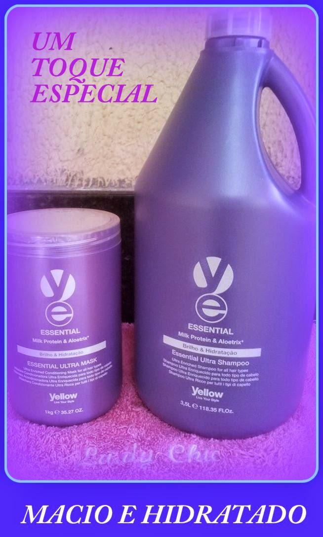 Para cabelos normais, secos ou fragilizados
