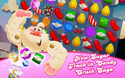 Candy Crush Saga v1.64.0.4 MOD APK Android