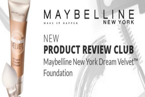 Chickadvisor Maybelline New York Dream Velvet Foundation Campaign
