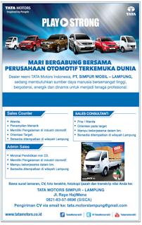 Logo TATA Motors, Lowongan Kerja Sabtu 14 November 2015
