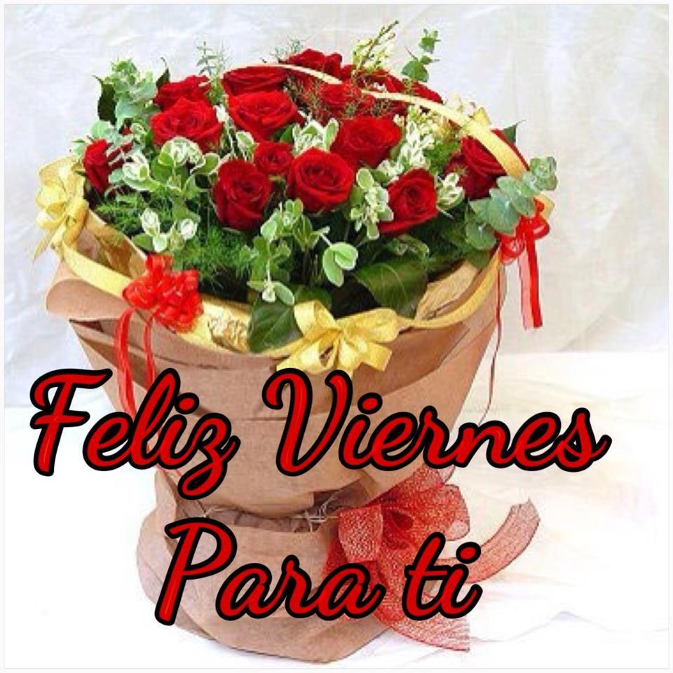 Feliz Viernes Con Rosas