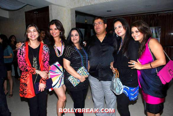 Alka Yagnik, Deepshikha, Poonam Dhillon, Sheeba - Hot Tv Babes at GR8! Magazine's anniversary bash