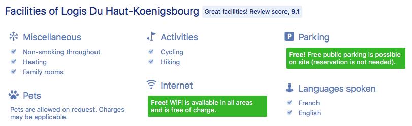Booking Logis du Haut-Koenigsbourg : My-Alsace.com