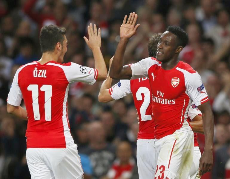 Poker Online :Welbeck: Arsenal Harus Perhatikan Pertahanan