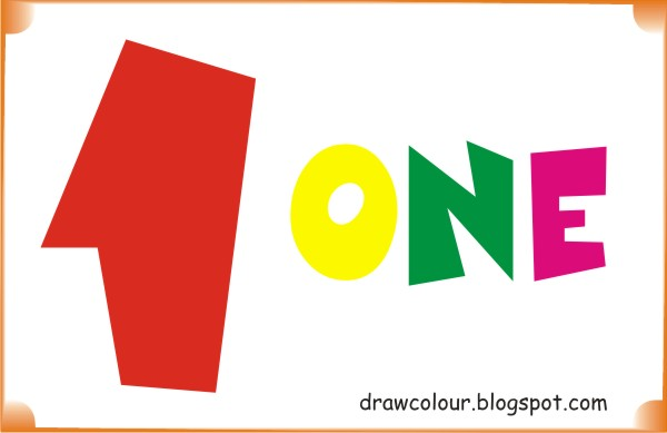 One Coloring Pages title=