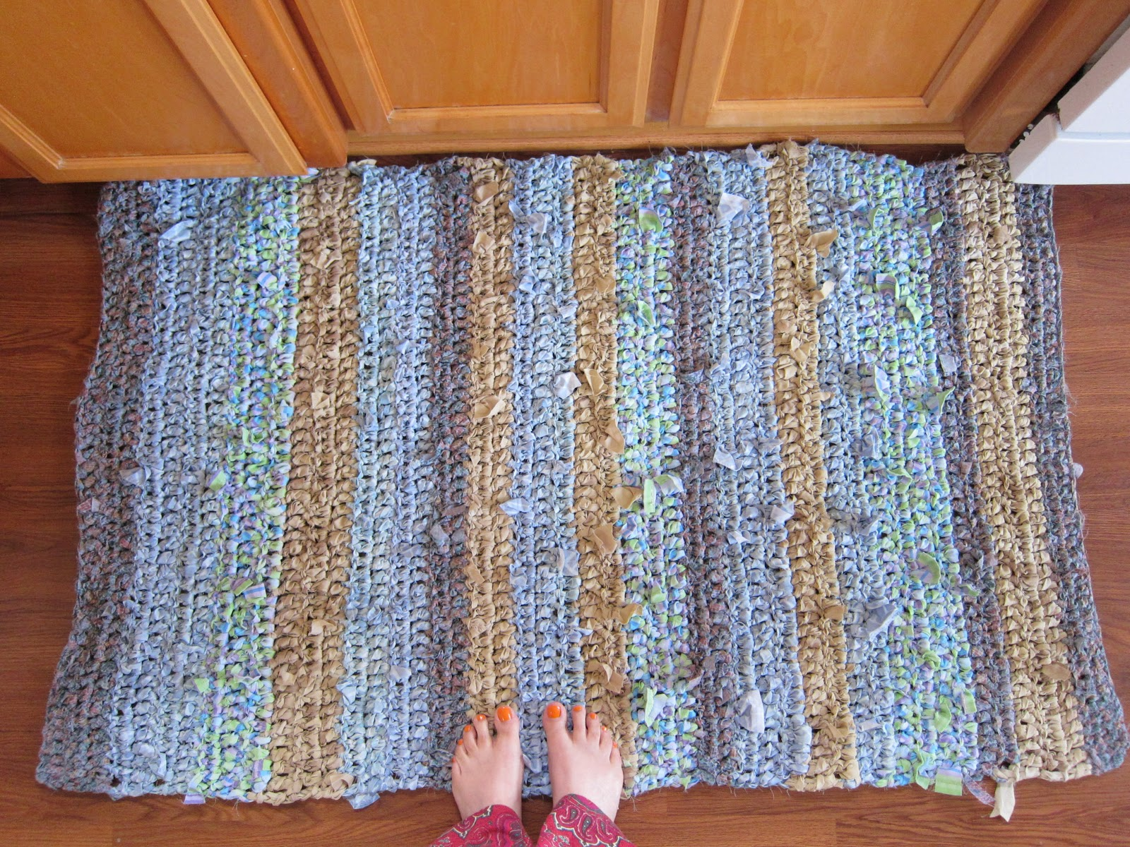 Crochet Rag Rugs Basic Pattern Collection - Kindle edition How to make old fashioned rag rugs