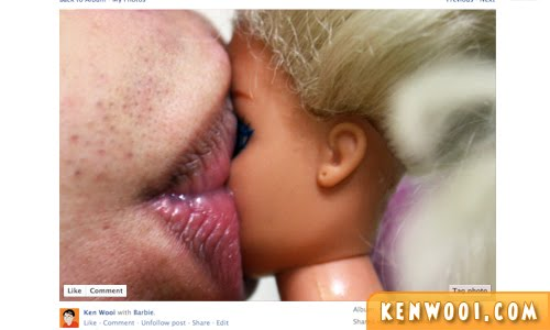 facebook photo kissing