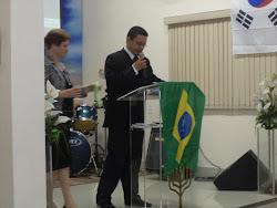 """""""Ministração Evangelista Ernani Lourenço na Igreja Profética Casa de Oração""""."""