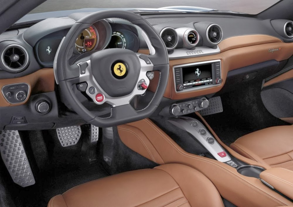 Autos de lujo for Ferrari california t interieur