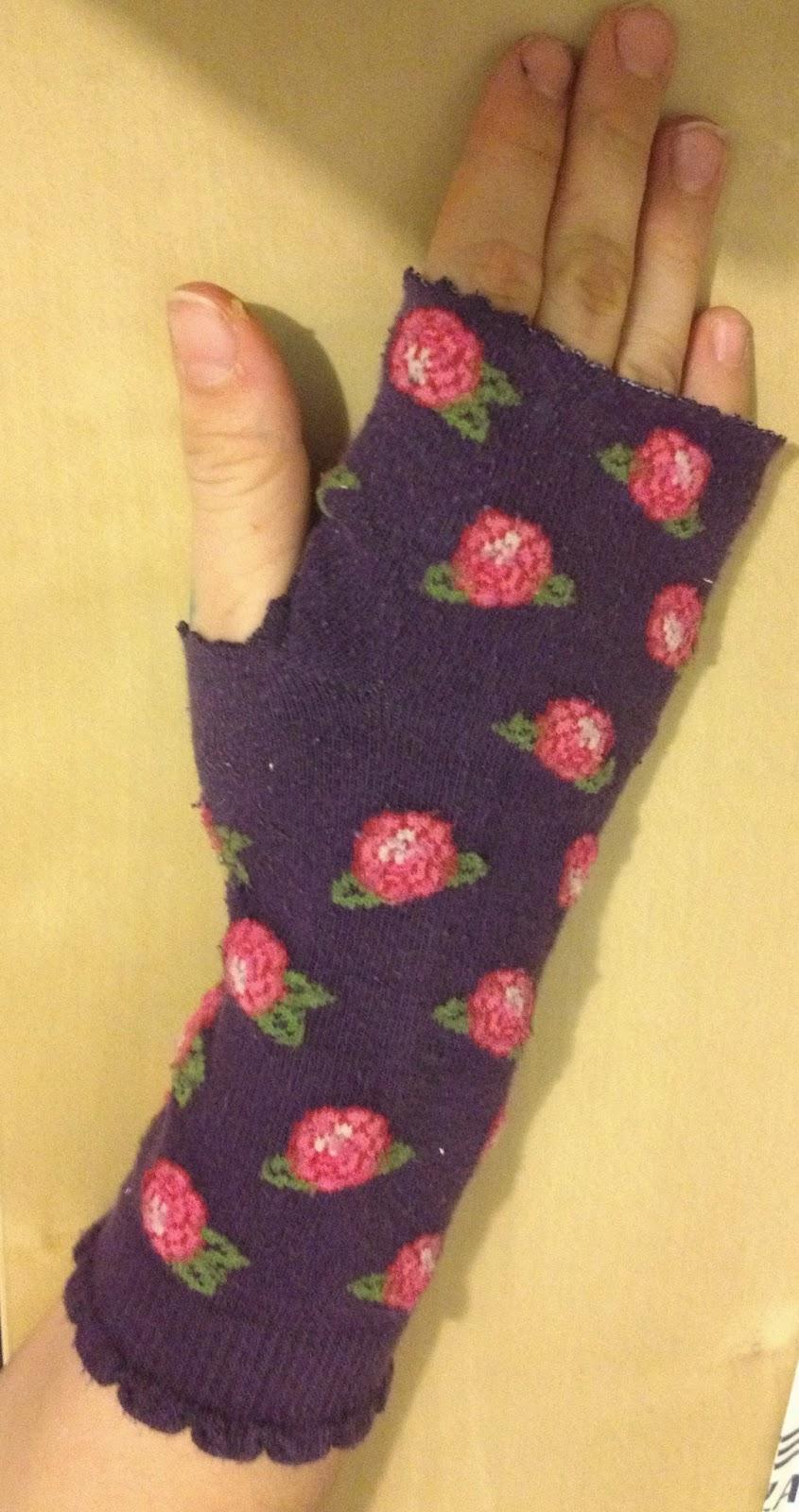 Armstulpe Socke