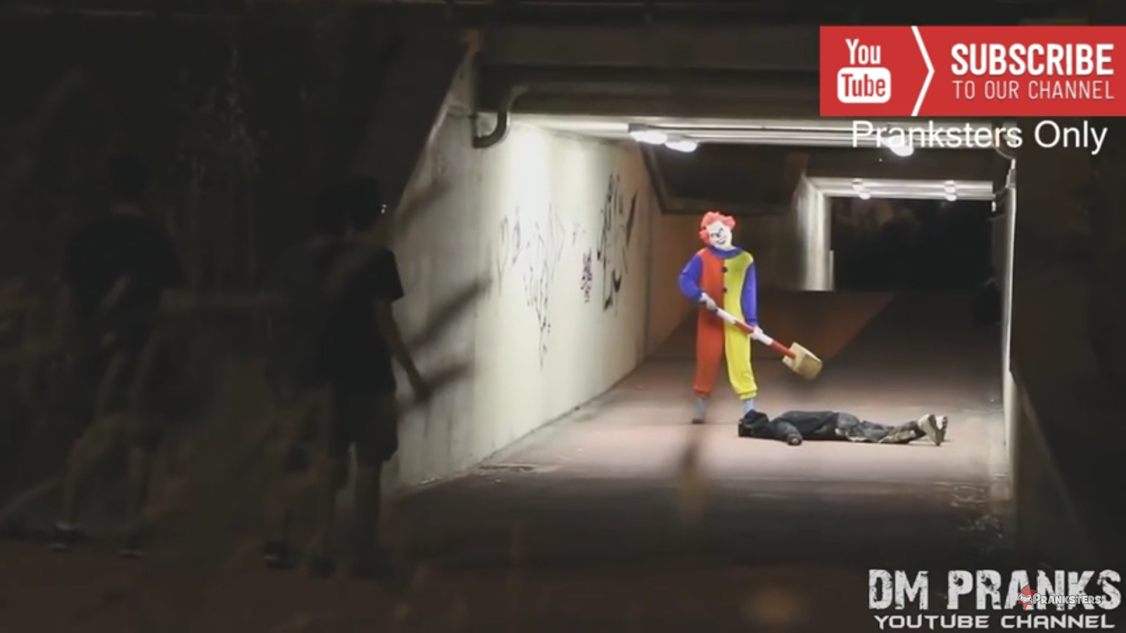 Clown prank reports