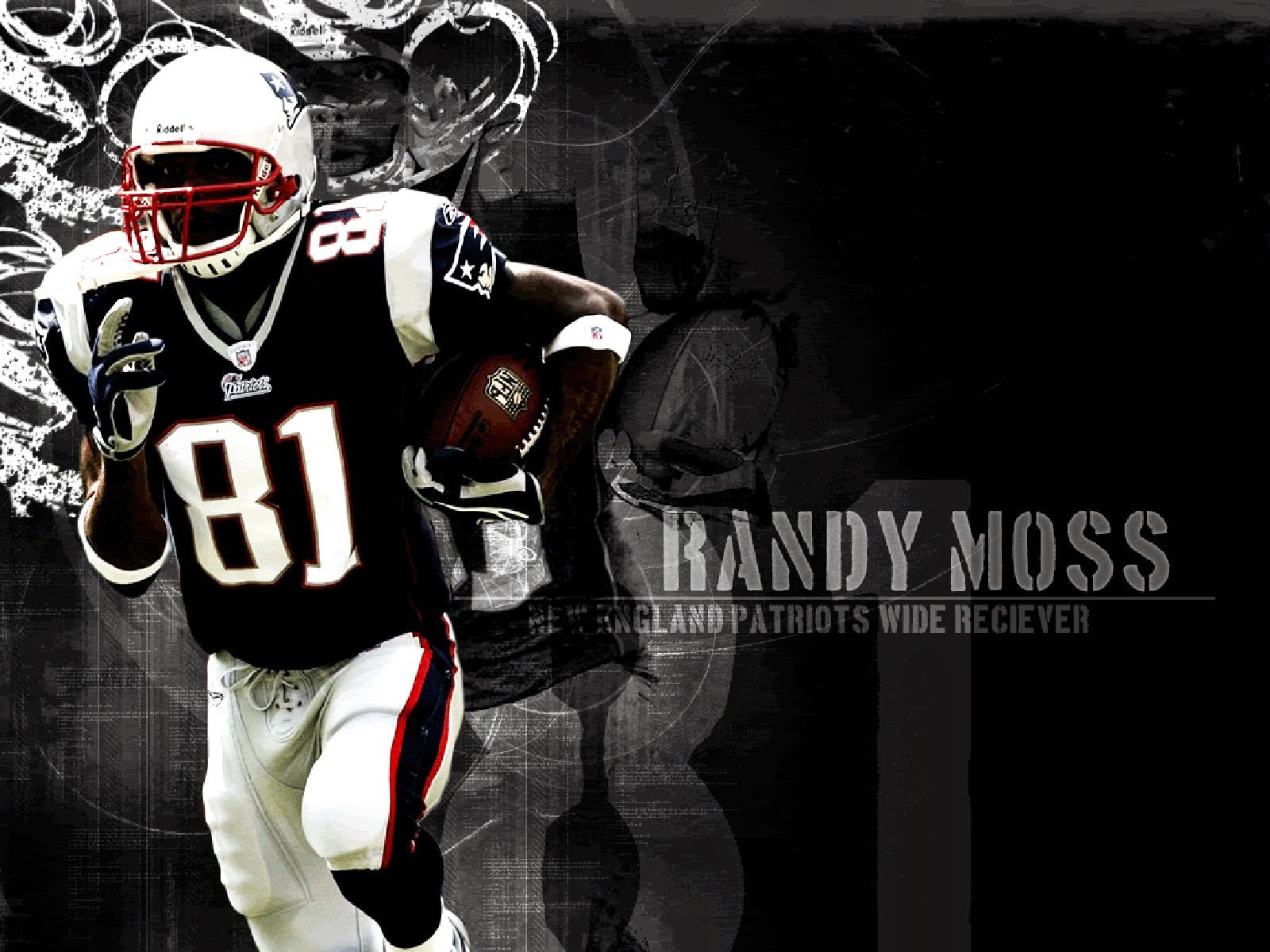 American Football Player Wallpaper: Wallpapers: American Football Player Randy Moss Wallpapers