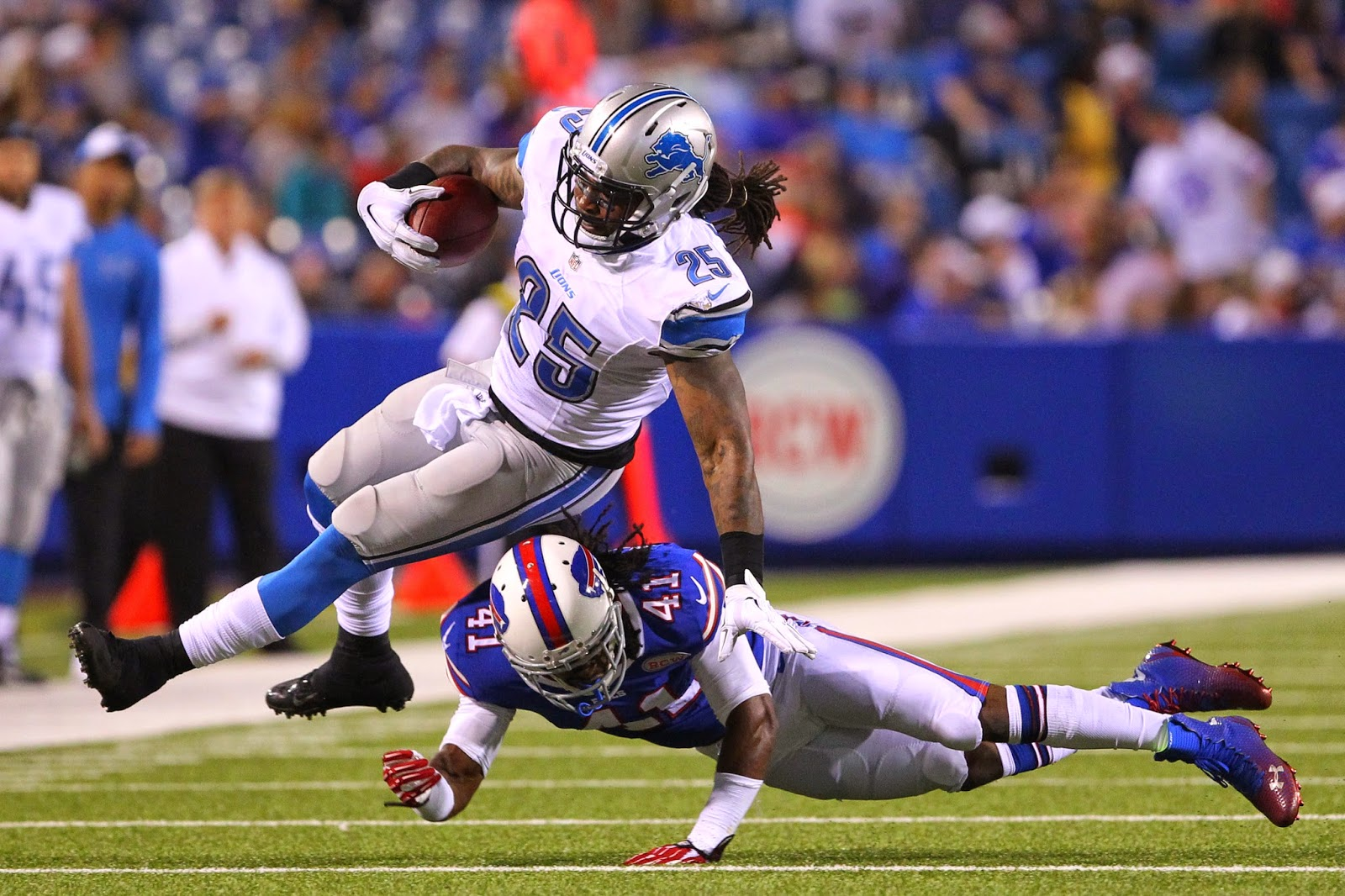 Detroit Lions — With Mikel Leshoure gone, only Nick Fairley remains from 2011 draft