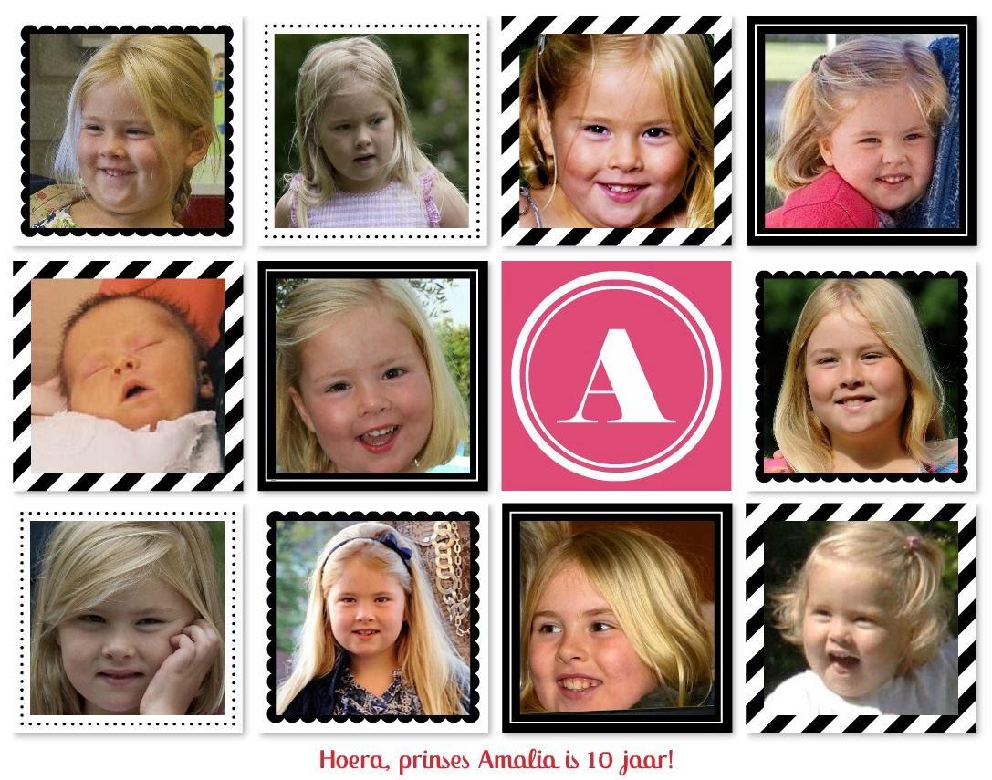 Welkom Op Loekje 19 Prinses Amalia Viert Tiende Verjaardag