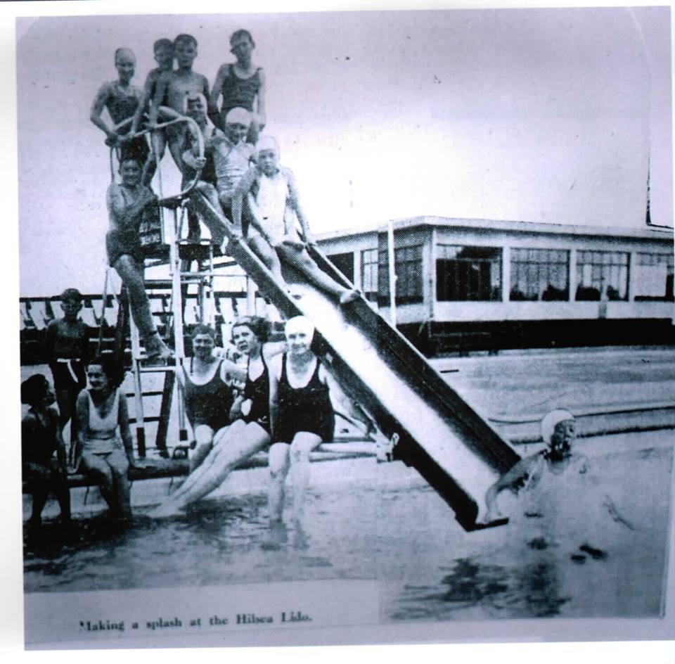 Hilsea Lido 1935