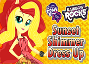 Rainbow Rocks Sunset Shimmer