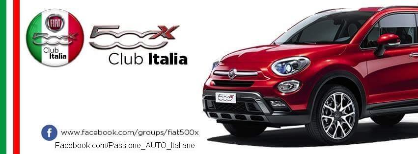 Fiat 500X Club Italia. ISCRIVITI CLICCANDO QUI
