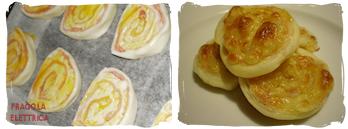 Girelle di Prosciutto e Mozzarella