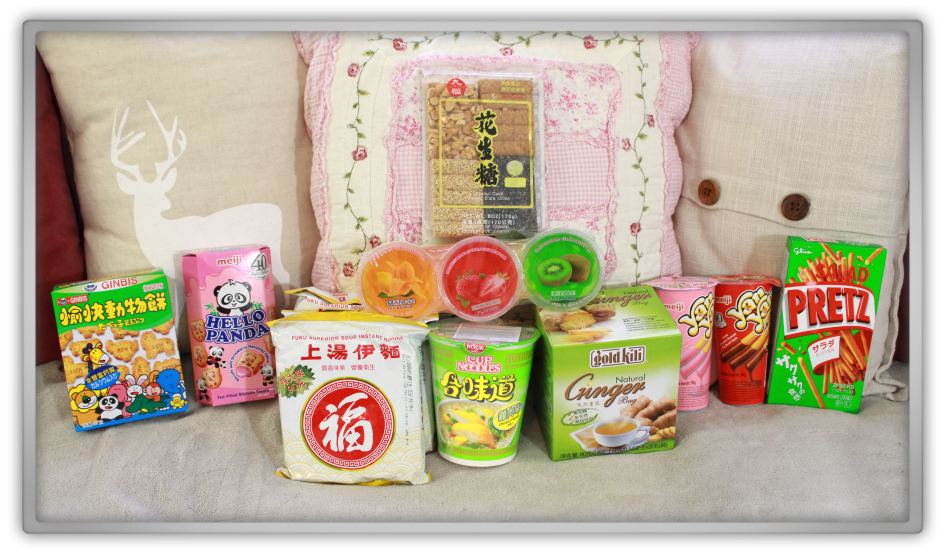 Amazing oriental breda asian super market japanese chinese korean food snacks candy dinner noodles meiji ginbis pretz haul review 1